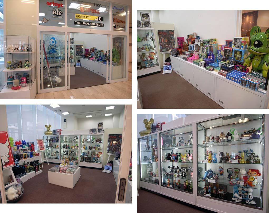 Pop-up Shop開店直前のショットです。_a0077842_2030487.jpg