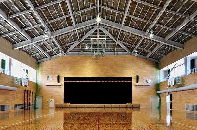 誕生寺養護学校 体育館整備工事_f0151251_964991.jpg