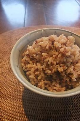 チュアル(麦の袋)と赤玄米。_e0078359_109572.jpg
