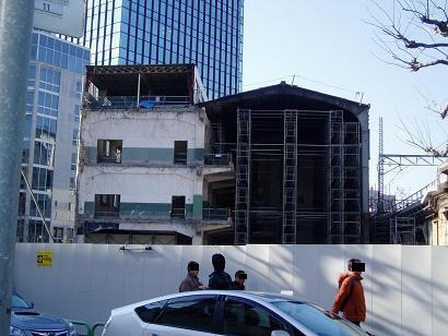 さよなら交通博物館 建物の解体状況(4)_f0030574_1343910.jpg