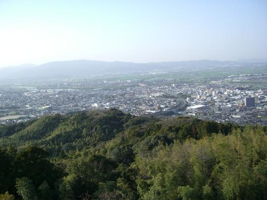 高良大社の桜_d0116009_22544312.jpg