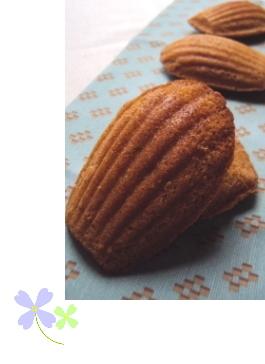 シナモン&オレンジのカフェモカ・マドレーヌ_f0218466_1927026.jpg