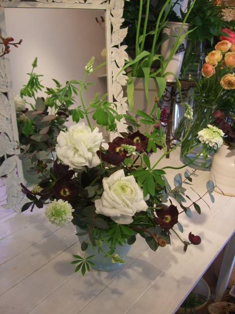 オークリーフ花の教室(望月さんの作品)_f0049672_16352112.jpg