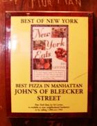 ブリーカー・ストリート沿いにある老舗のピザ屋さん、John\'s Pizzeria_b0007805_138454.jpg