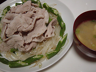 豚の冷しゃぶ_c0025217_11215135.jpg