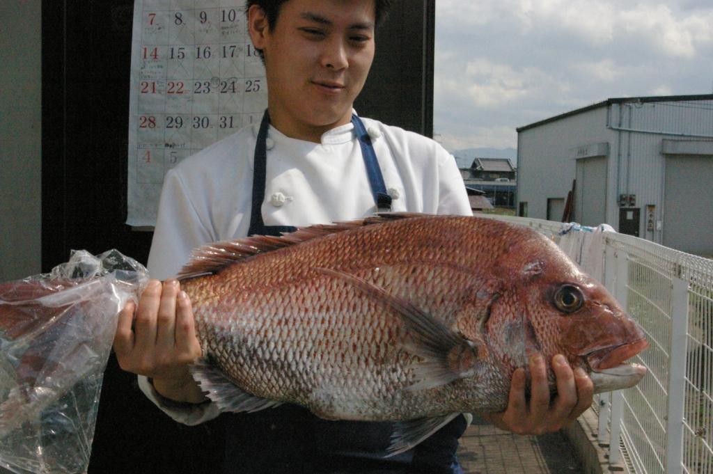 桜の季節の旬魚「桜鯛♪」_b0077531_23274678.jpg