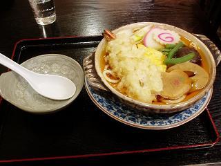 鍋焼うどんの探求(5) 瀧の家@本郷_f0030574_1127276.jpg