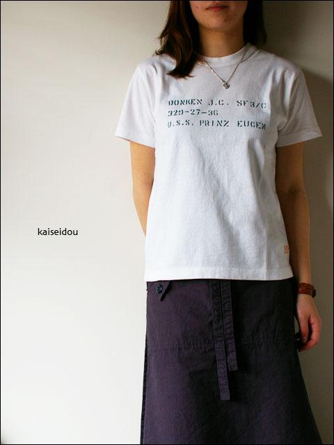快晴堂 [かいせいどう] ステンシル柄袋入りTシャツ _f0051306_2125597.jpg