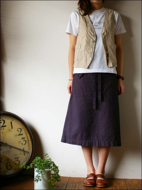 快晴堂 [かいせいどう] ステンシル柄袋入りTシャツ _f0051306_213086.jpg