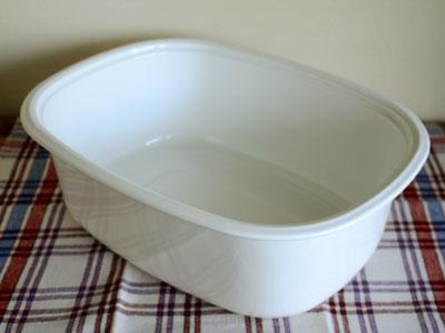 野田琺瑯 楕円型洗い桶_c0118809_2281638.jpg