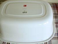 野田琺瑯 楕円型洗い桶_c0118809_2292267.jpg