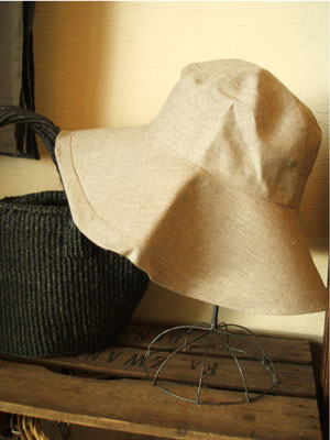 linen hat (fog linen work) _c0118809_322034.jpg
