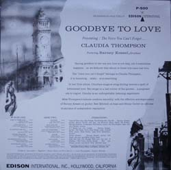 Claudia Thompson / Goodbye To Love_d0102724_0293874.jpg