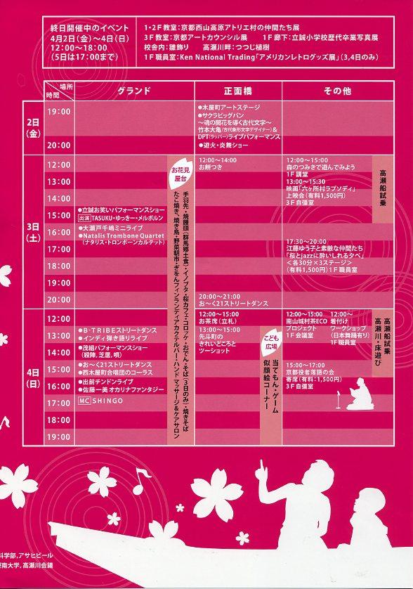 高瀬川桜まつり 着物着付けのワークショップ_c0100195_11201926.jpg