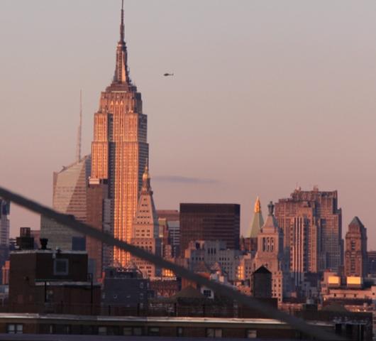 夕焼けの時間帯にブルックリン・ブリッジを渡ってみました_b0007805_12103750.jpg