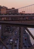 夕焼けの時間帯にブルックリン・ブリッジを渡ってみました_b0007805_12192327.jpg