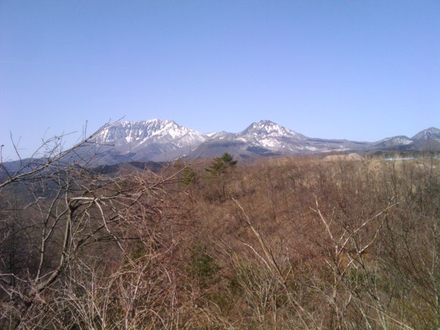 春の大山_f0192307_1124454.jpg
