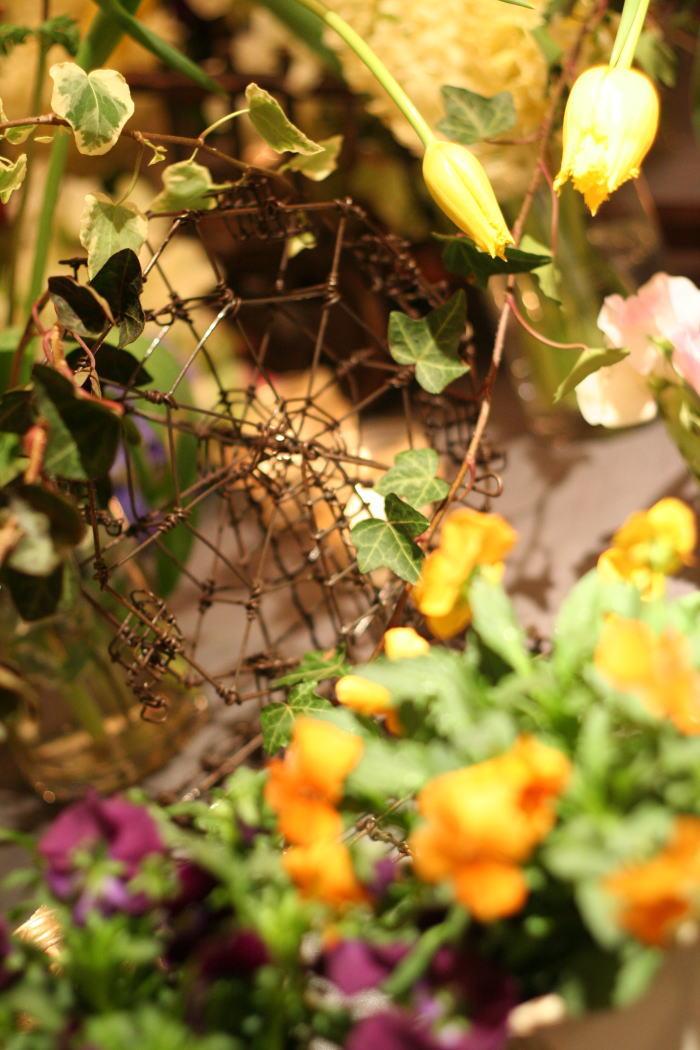 シェ松尾青山サロン様の装花 ポルトガル風_a0042928_18303046.jpg