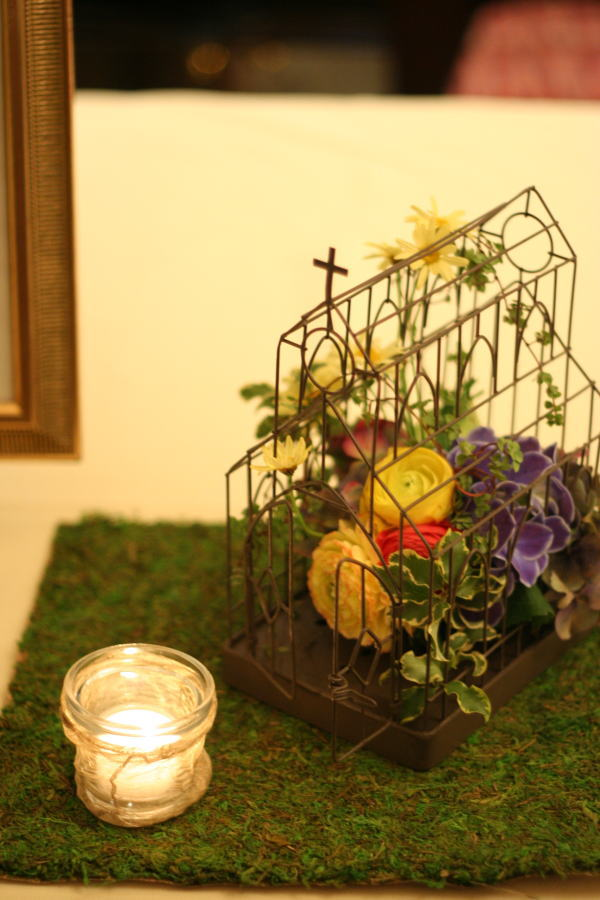 シェ松尾青山サロン様の装花 ポルトガル風_a0042928_18315285.jpg