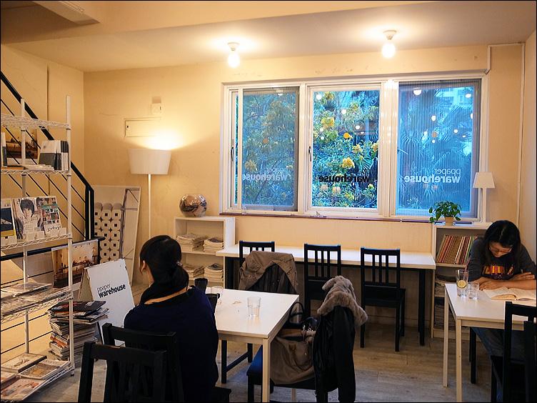 日式簡約風咖啡館──ppaper cafe_c0073742_2214677.jpg