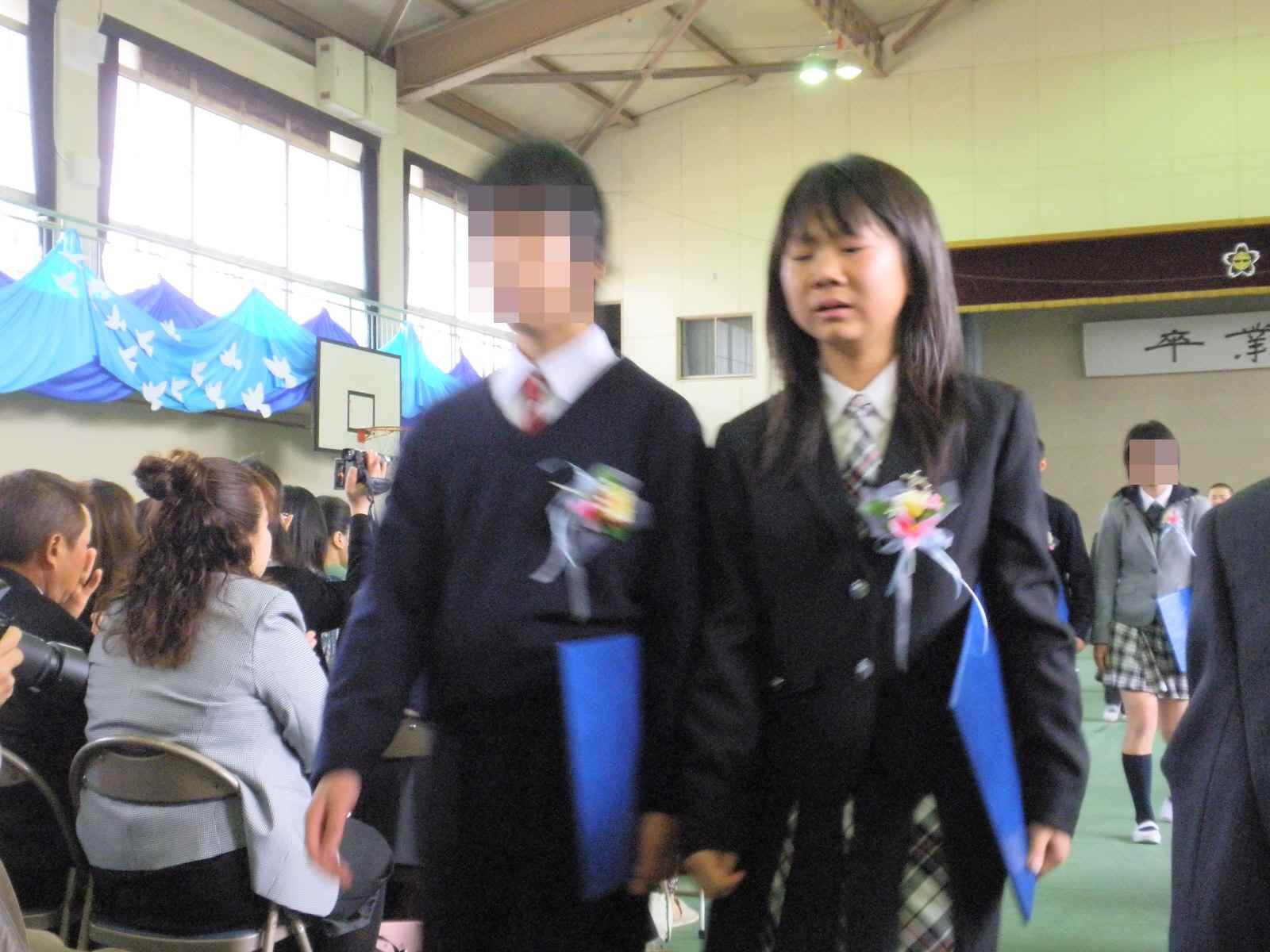 卒業式でした_f0096955_404975.jpg