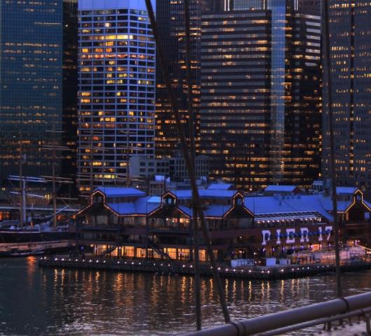 ブルックリン・ブリッジからDUMBOへ:ニューヨークの夜景を楽しむ_b0007805_21482022.jpg