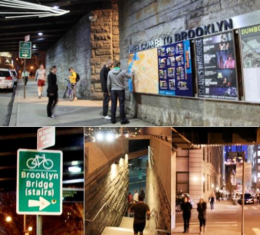 ブルックリン・ブリッジからDUMBOへ:ニューヨークの夜景を楽しむ_b0007805_21492327.jpg