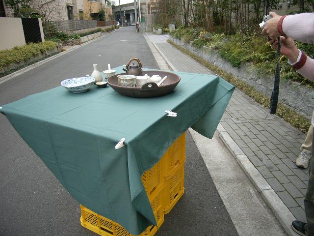 春の陶芸展DM撮影&冷却還元(CRF)の窯が出ました!_e0046128_23442482.jpg