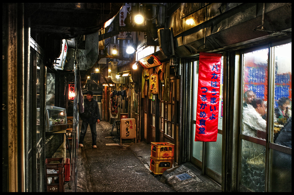 つるかめ食堂 バカはうまいよ 新宿西口思い出横丁_c0214542_2342381.jpg