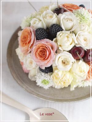 Flower cake_e0158653_2065053.jpg