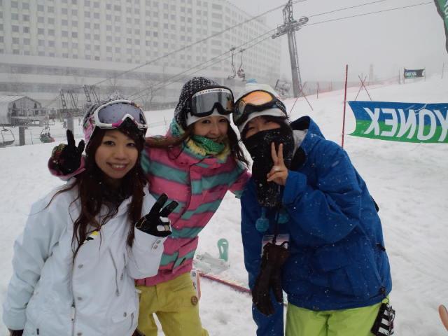 ヨネックス スノーボード フェスティバル in 苗場 2日目_c0151965_22361583.jpg
