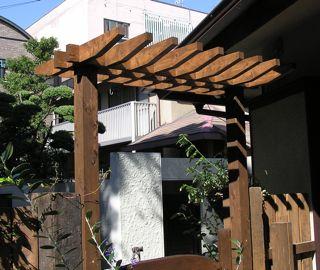 お庭の作品・・・パーゴラ 他^^:_a0162191_238920.jpg