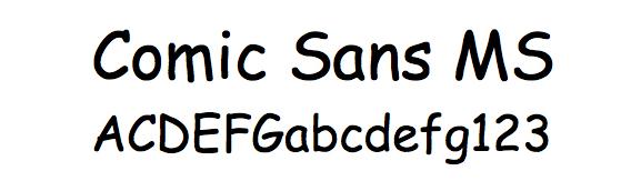 Comic Sans についてのリサーチ_e0175918_143527.jpg