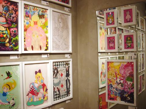 41名のアーティストによる『 私の中のアリス展 』開催中!_f0010033_17361815.jpg