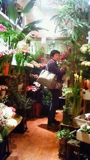 お花屋さんで店番_a0153945_8583428.jpg