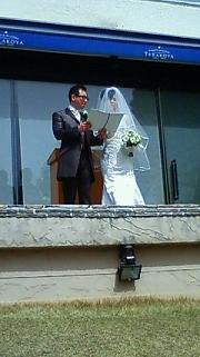 友人の結婚式_a0153945_981614.jpg