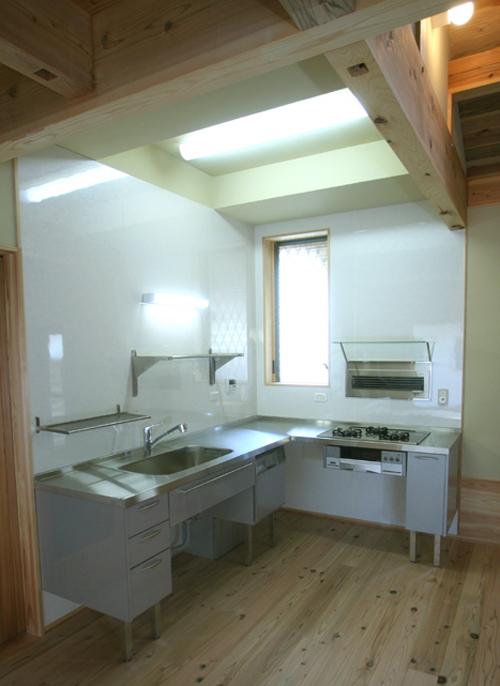 ステンレスメタル キッチン L 型 TK ut邸 知多市_f0222049_14215618.jpg