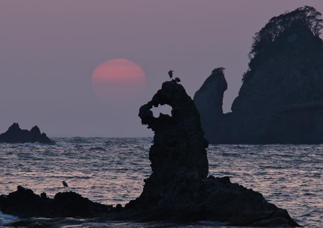 大田子の夕景 3_f0018464_821282.jpg