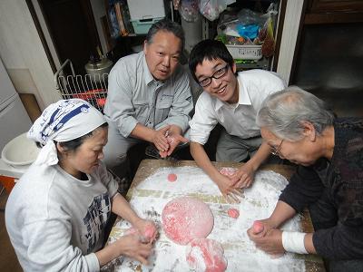 JA全農にいがた「米事情研修」     結婚式「福餅作り」_b0092684_13384311.jpg