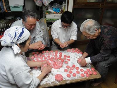 JA全農にいがた「米事情研修」     結婚式「福餅作り」_b0092684_13385556.jpg