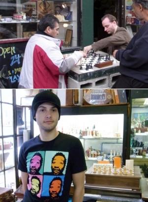 トンプソン通りにあるチェス専門店 Chess NYC_b0007805_21414740.jpg