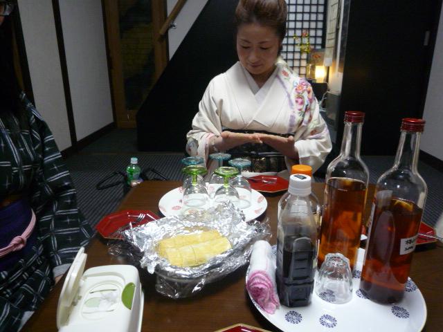 着方教室・楽しい梅酒パーティ。_f0181251_1732986.jpg