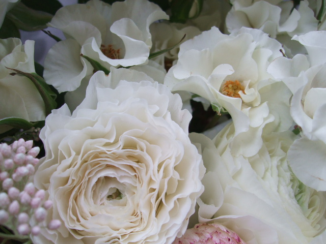 オークリーフ(オードリーとラナンキュラスの花束)_f0049672_16595050.jpg
