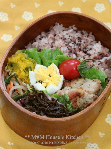 収穫 *:...。.(´∀`人) ☆今日のお弁当♪_c0139375_12413764.jpg