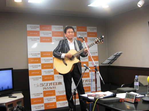 「夏木ゆたかのホッと歌謡曲」に出演しました。_e0119092_1036520.jpg