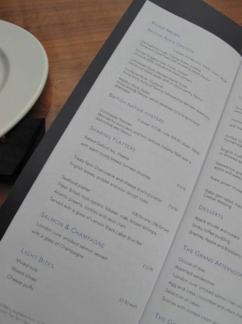 St.Pancrasのシャンパン・バーのMenu5_c0108595_108216.jpg