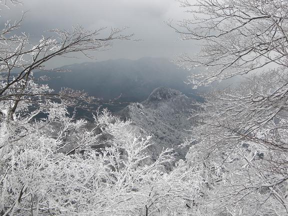 山が白くなっている~  英彦山へ_e0164643_2145480.jpg