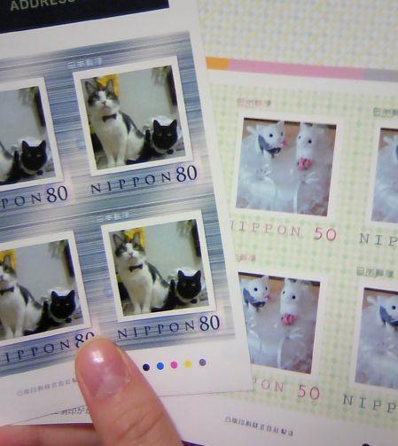 猫の切手。_f0108346_5272780.jpg