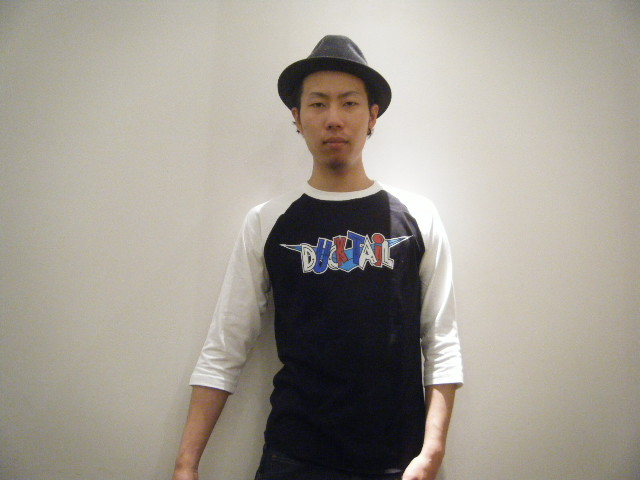 DUCKTAIL clothing NEW ITEM _c0187573_19273014.jpg