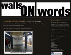 WE ALL RISE・・・ ゲリラ・アート・プロジェクト wallsONwords_b0007805_21475922.jpg